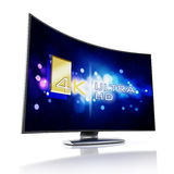 4K Ultra HD television Stock Images