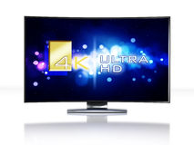 4K Ultra HD television Stock Photos
