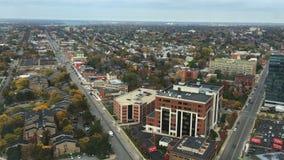 4K UltraHD水牛城城市的一张鸟瞰图 股票视频