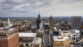 4K UltraHD水牛城城市的一张鸟瞰图 影视素材
