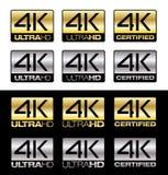 4K UltraHD Lizenzfreie Stockfotos