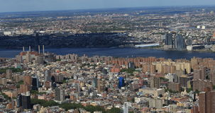 4K UltraHD Aerial view of Midtown New York area. 4K UltraHD An aerial view of Midtown New York area stock video