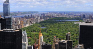 4K UltraHD Aerial view of the Midtown New York and Central Park. 4K UltraHD An aerial view of the Midtown New York and Central Park stock footage