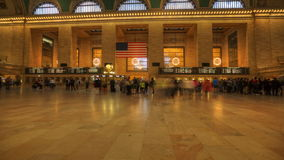 4K UltraHD Busy Grand Central Station stock footage