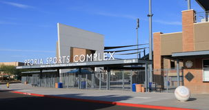 4K UltraHD The Peoria Sports Complex in Arizona stock footage