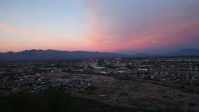 4K UltraHD Sunset timelapse of Tucson, Arizona. 4K UltraHD A Sunset timelapse of Tucson, Arizona stock video footage