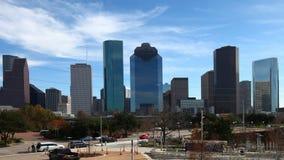 4K UltraHD Timelapse κέντρο πόλεων του Χιούστον, Τέξας απόθεμα βίντεο