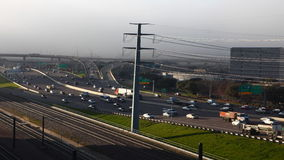 4K UltraHD Timelapse της πολυάσχολης κυκλοφορίας σε έναν αυτοκινητόδρομο του Ντάλλας φιλμ μικρού μήκους