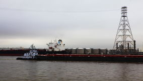 4K UltraHD Timelapse του ναυτικού που στέλνει κοντά στο Χιούστον, Τέξας απόθεμα βίντεο