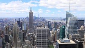 K UltraHD timelapse aerial of midtown Manhattan, New York. K UltraHD A Timelapse aerial of midtown Manhattan, New York stock footage
