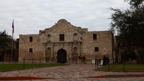4K UltraHD Timelapse Alamo στο San Antonio, Τέξας απόθεμα βίντεο