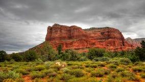 4K UltraHD Timelapse of Bell Rock in Sedona, Arizona. Timelapse of Bell Rock in Sedona, Arizona stock video footage