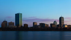 4K UltraHD Timelapse Boston day to night stock video