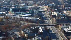4K UltraHD A timelapse of a Boston, Massachusetts neighborhood stock video footage