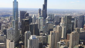 4K UltraHD Timelapse the Chicago city center stock footage