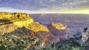 4K UltraHD Timelapse de la salida del sol en Grand Canyon almacen de video