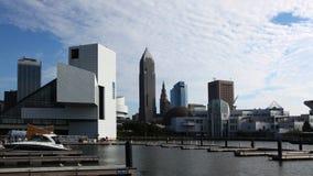 4K UltraHD Timelapse del centro urbano di Cleveland, Ohio stock footage
