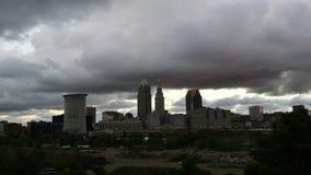 4K UltraHD Timelapse della tempesta si rannuvola Cleveland video d archivio