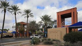 4K UltraHD Timelapse des im Stadtzentrum gelegenen Krämers, Arizona stock footage