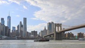 4K UltraHD Timelapse of lower Manhattan in New York. 4K UltraHD A Timelapse of lower Manhattan in New York stock video