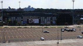 4K UltraHD timelapse Nadgraniczny stadium w Rochester, Nowy Jork zbiory