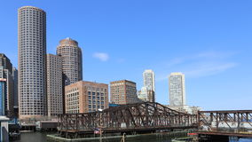 4K UltraHD Timelapse puerto de la Boston, Massachusetts