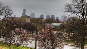 4K UltraHd A Timelapse scenic view of Philadelphia stock footage