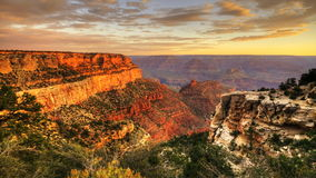 4K UltraHD A timelapse of sunrise at the Grand Canyon stock video