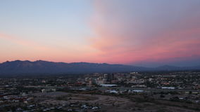 4K UltraHD Timelapse at sunset in Tucson, Arizona stock video footage