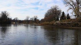 4K UltraHD Timelapse Thames rzeka w Londyn, Kanada zbiory