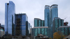 4K UltraHD Timelapse of Toronto`s downtown core stock video footage