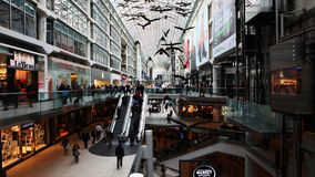 4K UltraHD A timelapse view of the Eaton Center in Toronto