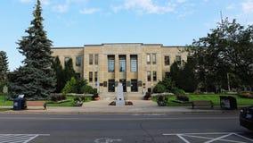 4K UltraHD Timelapse von Rathaus in St. Catharines, Kanada stock video footage