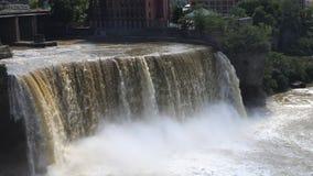 4K UltraHD Timelapse wysokość Spada w mieście Rochester, Nowy Jork zdjęcie wideo