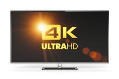 4K UltraHD TV Fotografia Stock Libera da Diritti