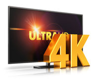 4K UltraHD TV Fotografia Royalty Free