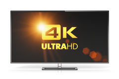 4K UltraHD TV Royalty Free Stock Photo