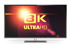 8K UltraHD TV Royalty Free Stock Images