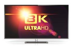 8K UltraHD TV Royalty Free Stock Images