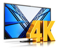 4K UltraHD TV Royalty Free Stock Photography