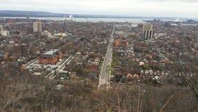 4K UltraHD una vista sopra Hamilton, Ontario di cottura video d archivio