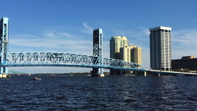 4K UltraHD Video of Jacksonville and the St. Johns River. 4K UltraHD A Video of Jacksonville and the St. Johns River stock video