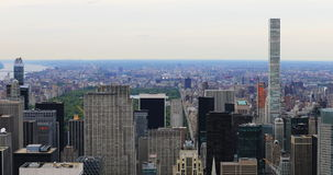 4K UltraHD View of Midtown Manhattan area stock footage