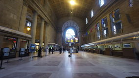 4K UltraHD View of Union Station in Toronto stock video