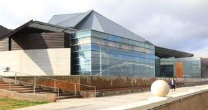 4K UltraHD widok piękny centrum dla sztuk w Tempe, Arizona zbiory