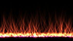 4k upału ogienia płomienia energetyczny wypiekowy spalanie, napromienianie promieni fajerwerków cząsteczka ilustracji