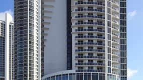 4k video of modern architecture south florida stock footage