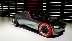 4K video of Opel GT Concept stock footage
