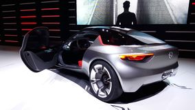 4K video of Opel GT Concept stock video