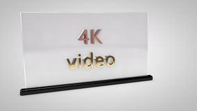 4K Video. S, the new standard NAB 2013 Stock Images